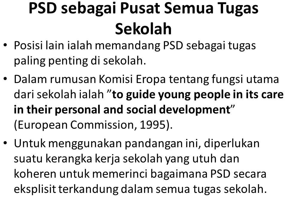 PSD sebagai Pusat Semua Tugas Sekolah