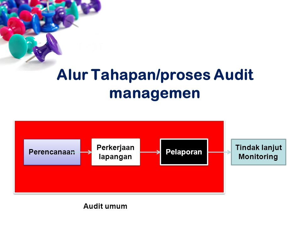 Alur Tahapan/proses Audit managemen