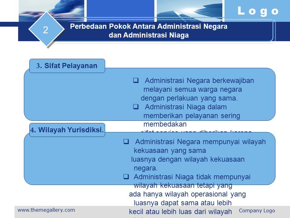 Perbedaan Pokok Antara Administrasi Negara dan Administrasi Niaga