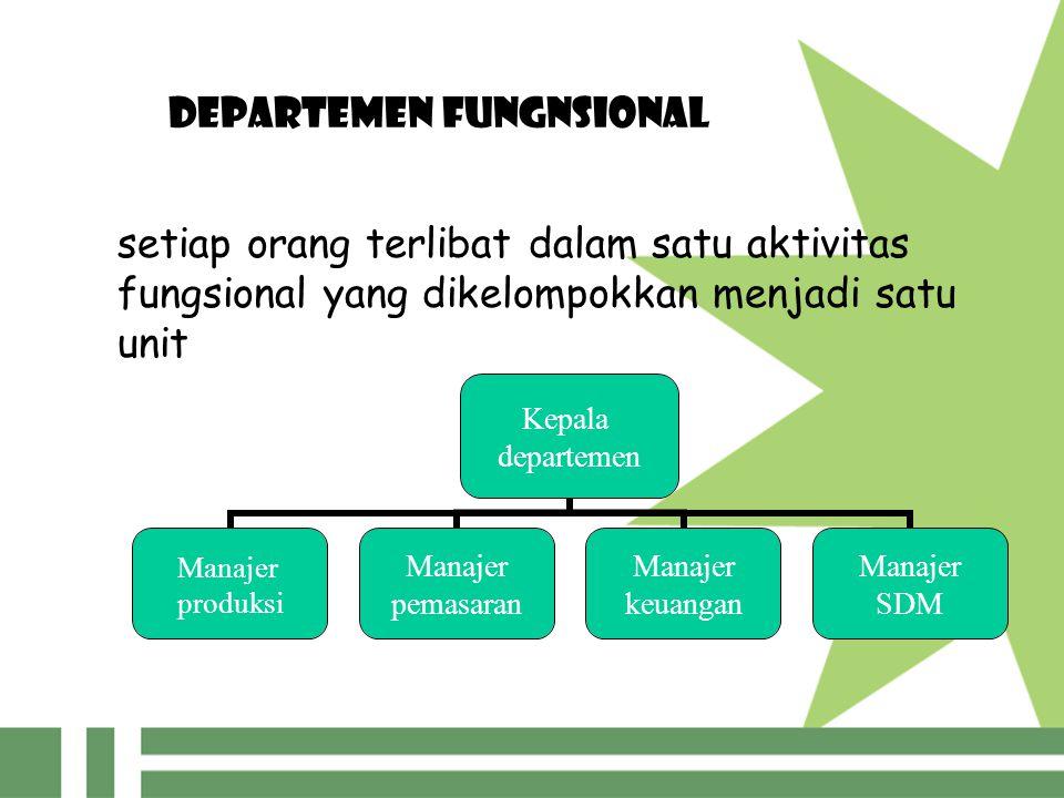 DEPARTEMEN FUNGNSIONAL
