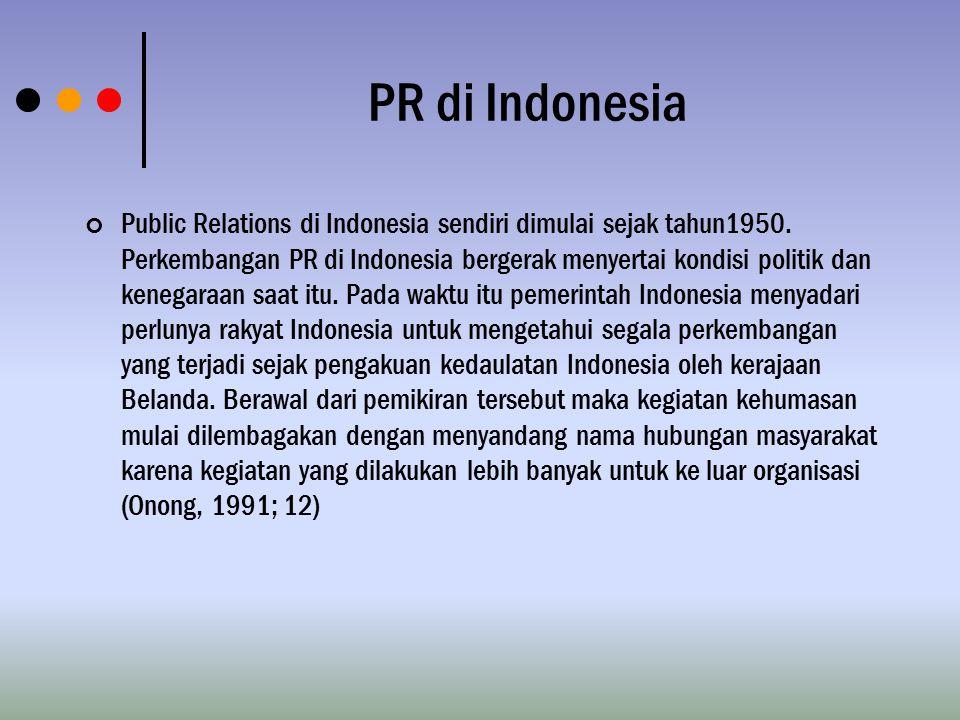PR di Indonesia