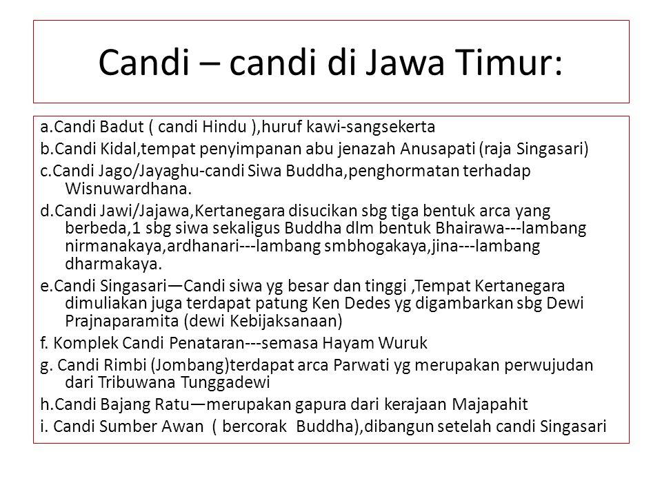 Candi – candi di Jawa Timur:
