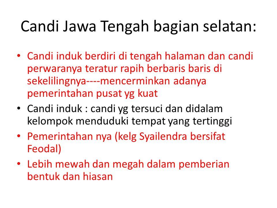 Candi Jawa Tengah bagian selatan: