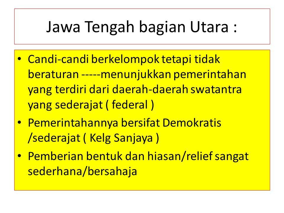 Jawa Tengah bagian Utara :