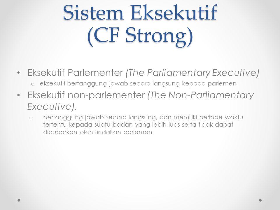 Sistem Eksekutif (CF Strong)