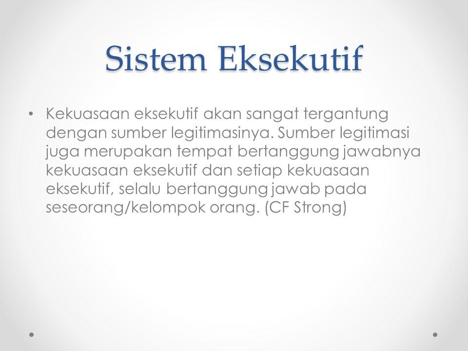 Sistem Eksekutif