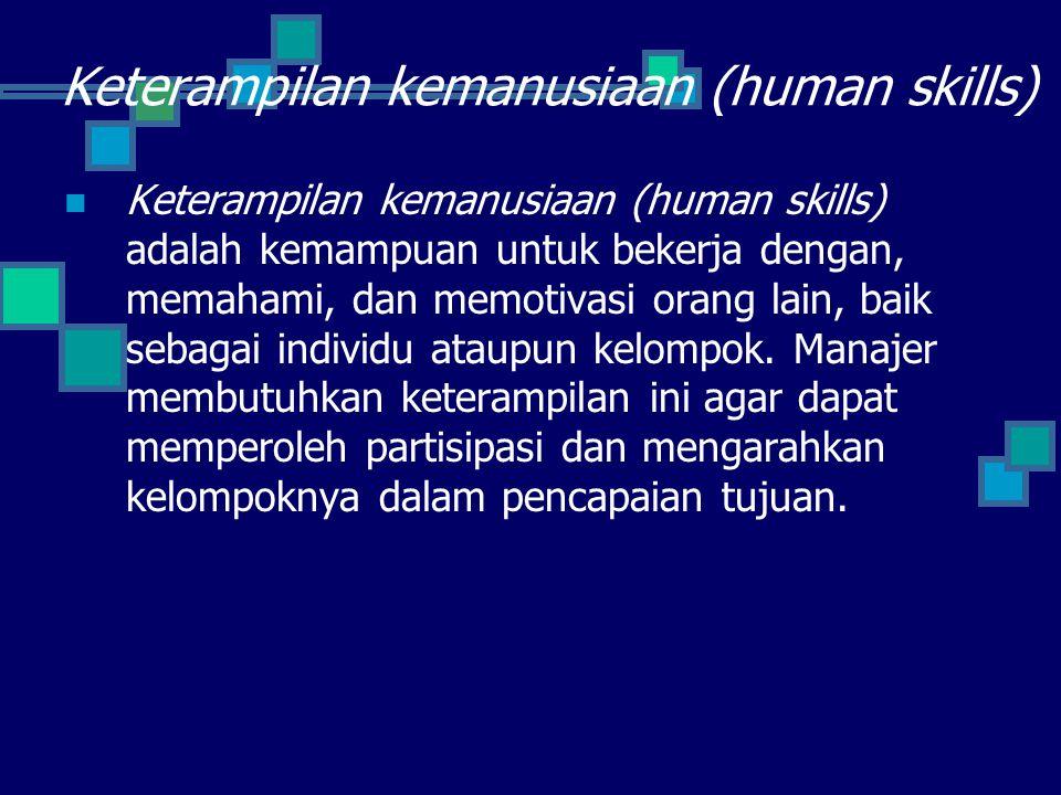 Keterampilan kemanusiaan (human skills)