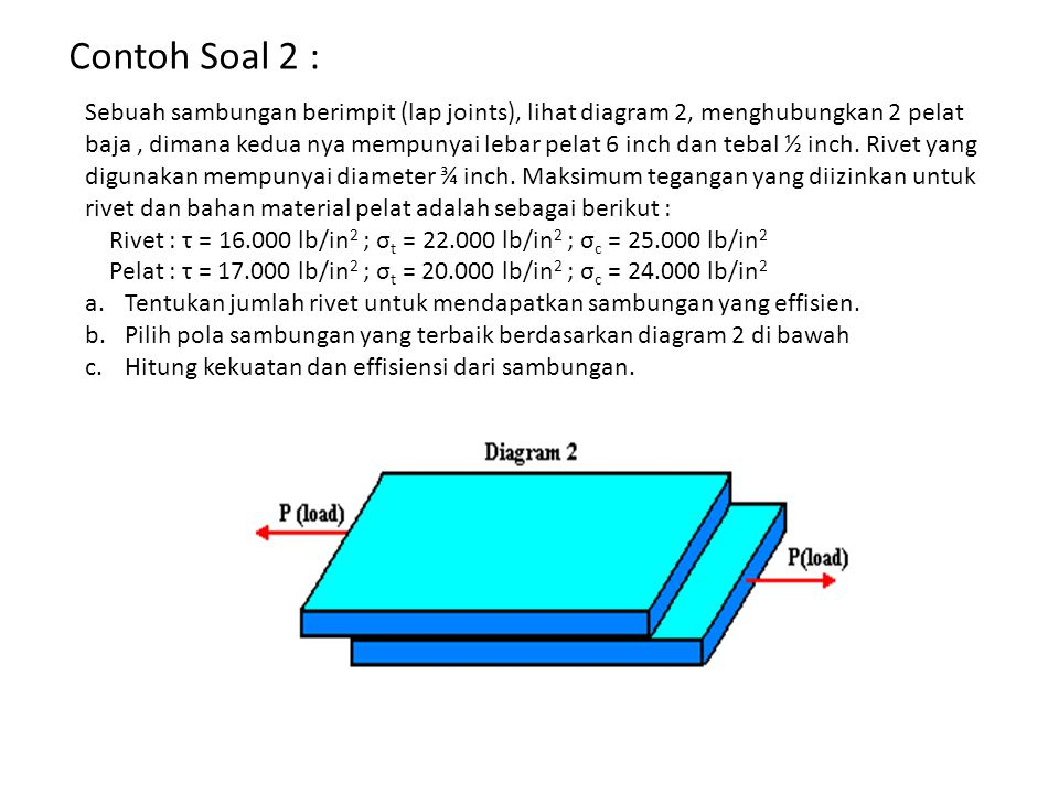 Contoh Soal 2 :