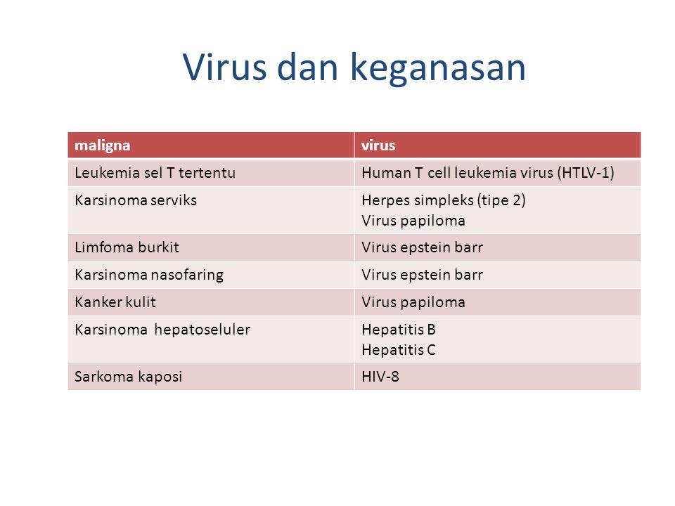 Virus dan keganasan maligna virus Leukemia sel T tertentu