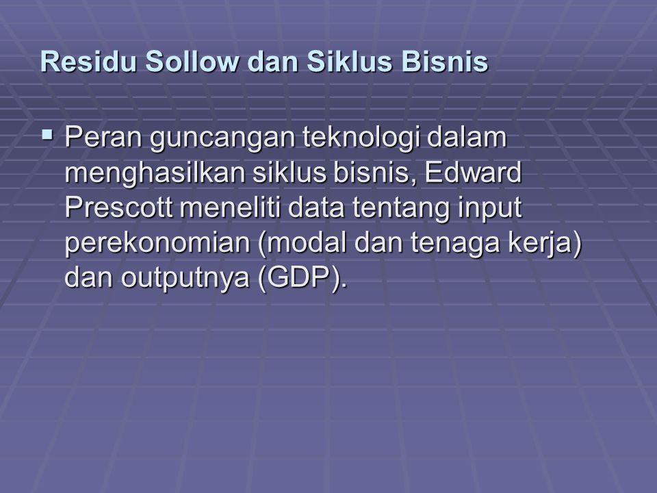 Residu Sollow dan Siklus Bisnis