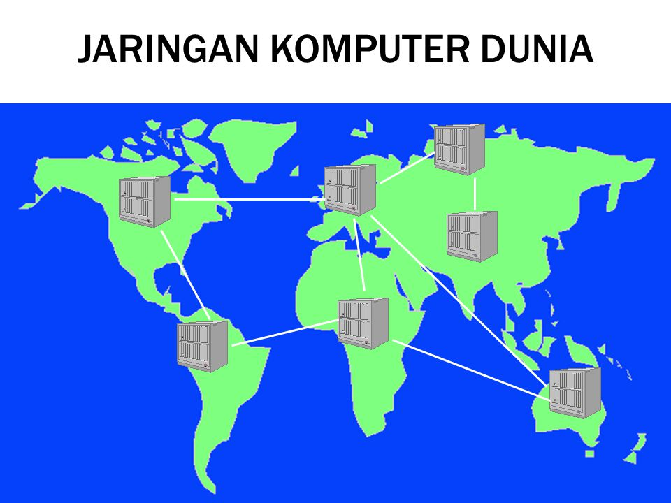 Jaringan komputer dunia