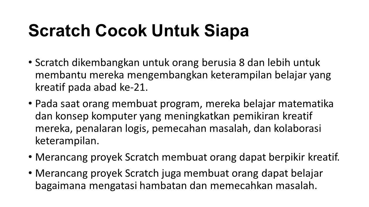 Scratch Cocok Untuk Siapa
