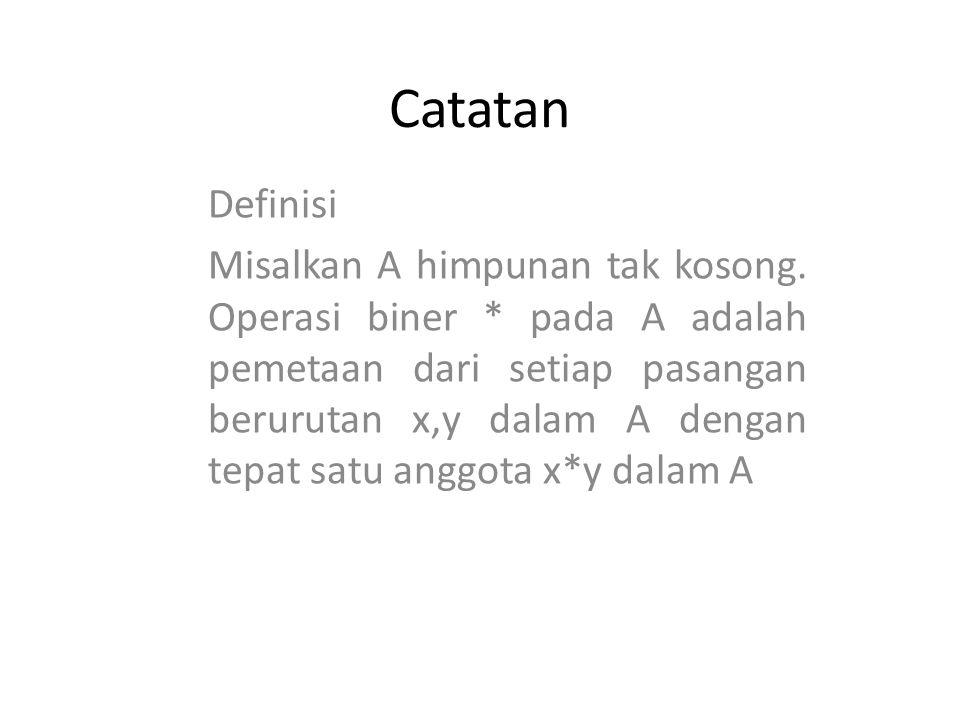 Catatan Definisi.