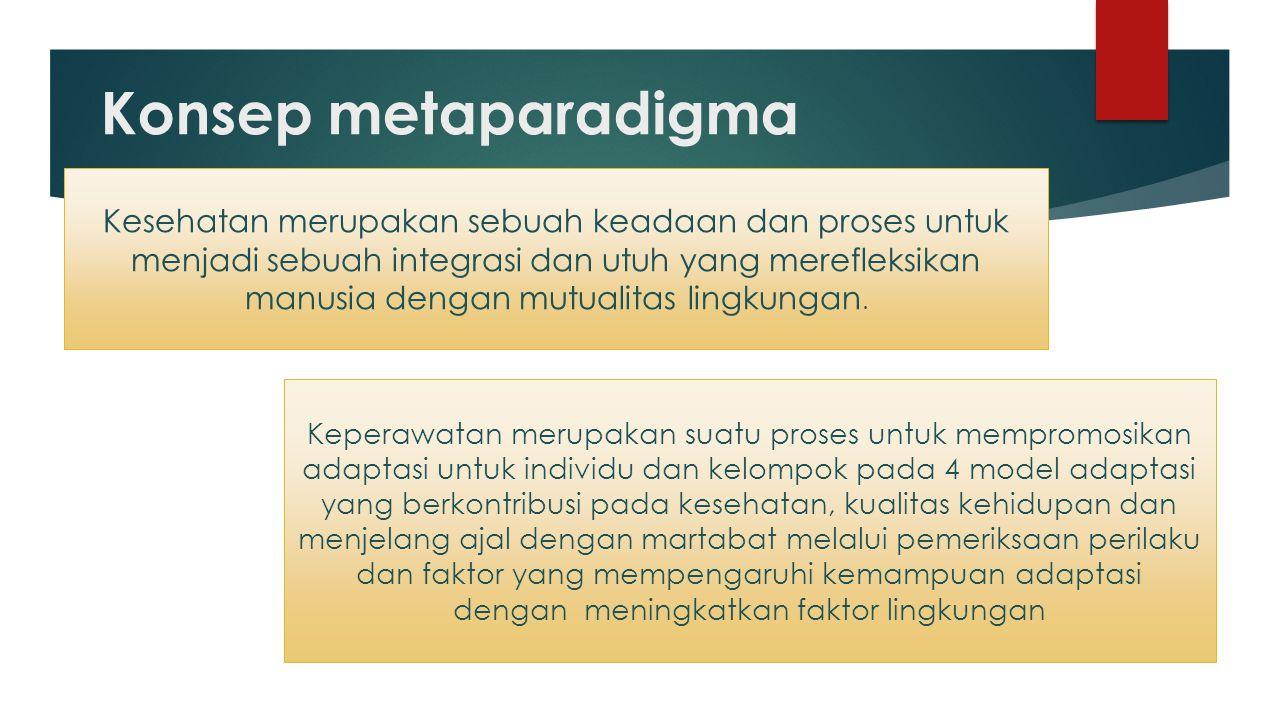 Konsep metaparadigma