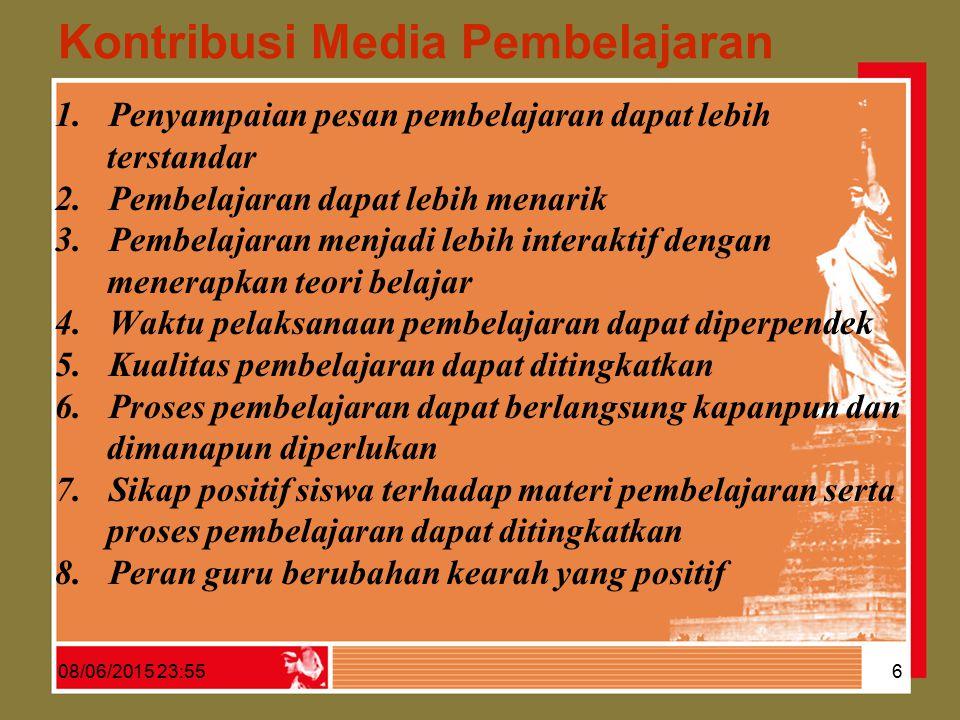 Kontribusi Media Pembelajaran