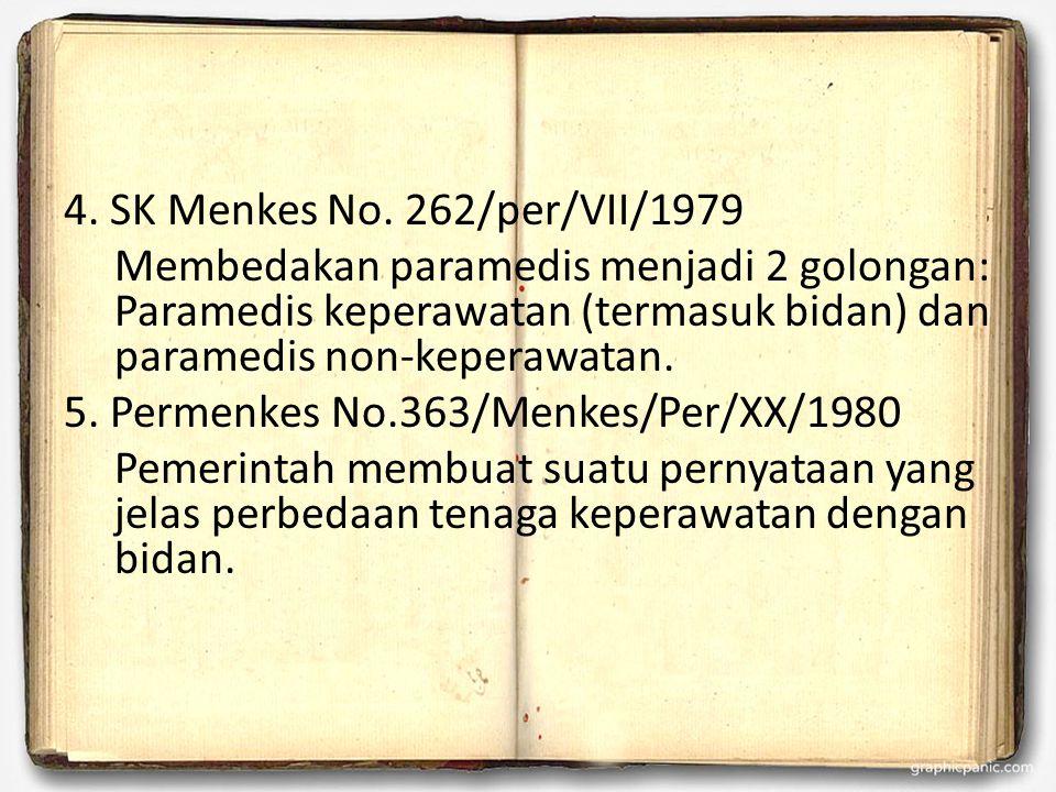 4. SK Menkes No.