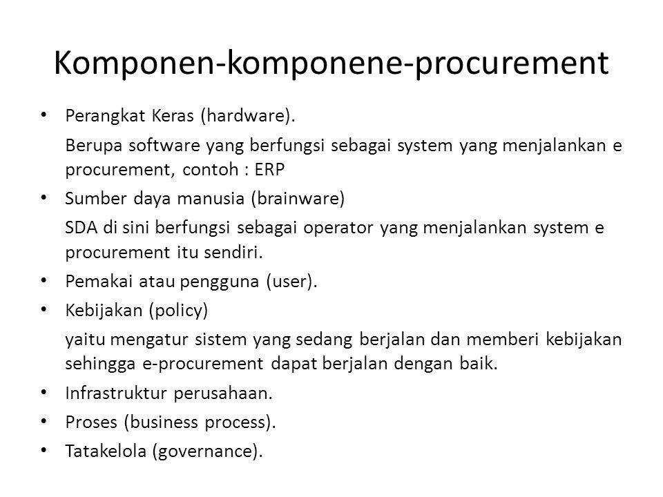 Komponen-komponene-procurement