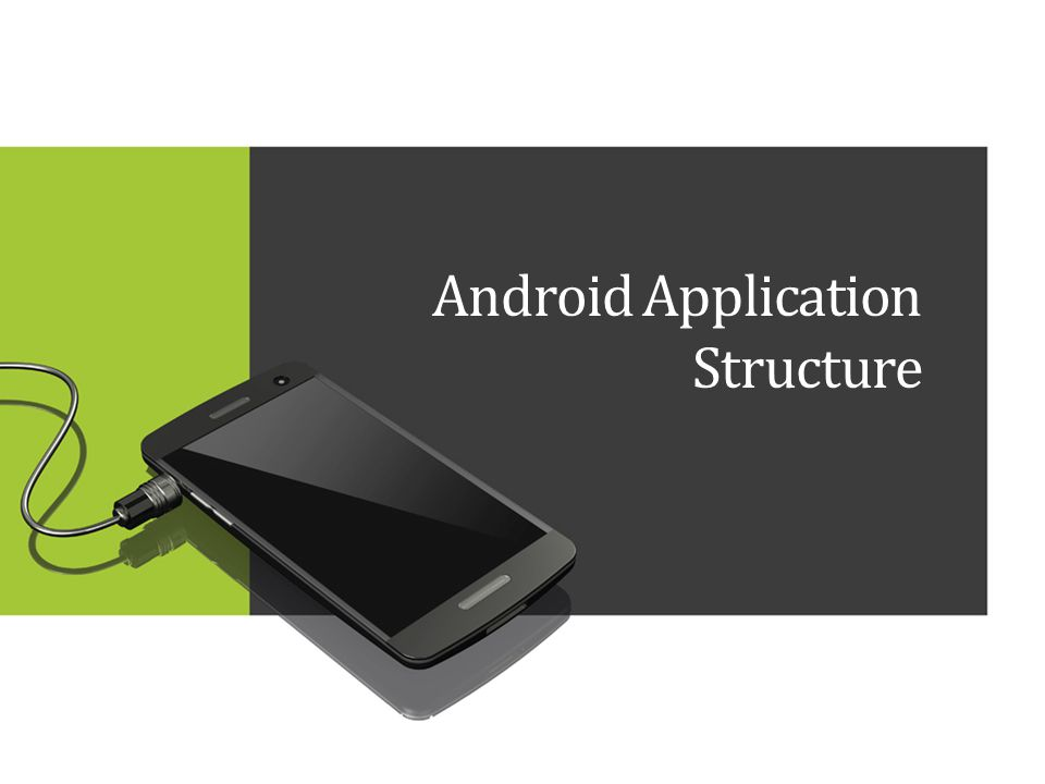 Android Application Structure
