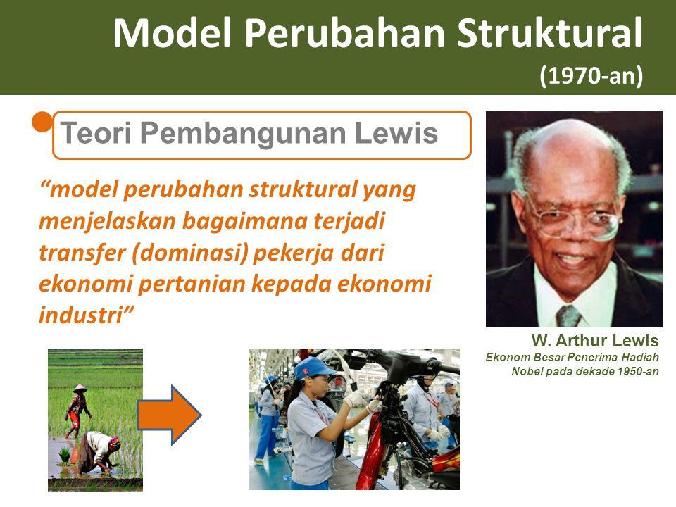 Model Perubahan Struktural (1970-an)