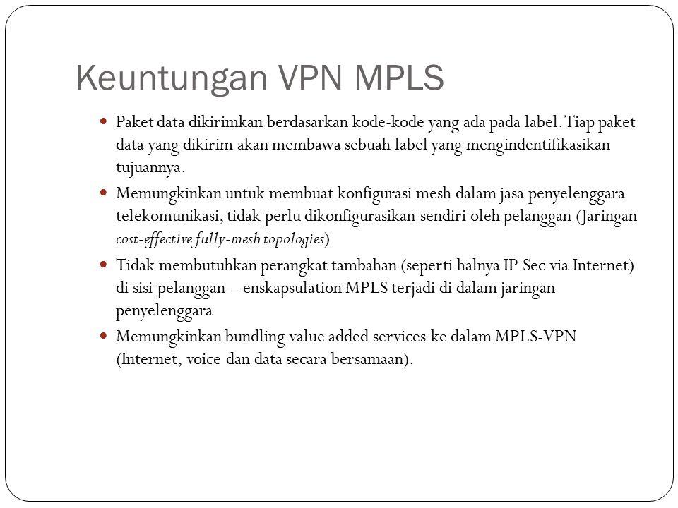 Keuntungan VPN MPLS