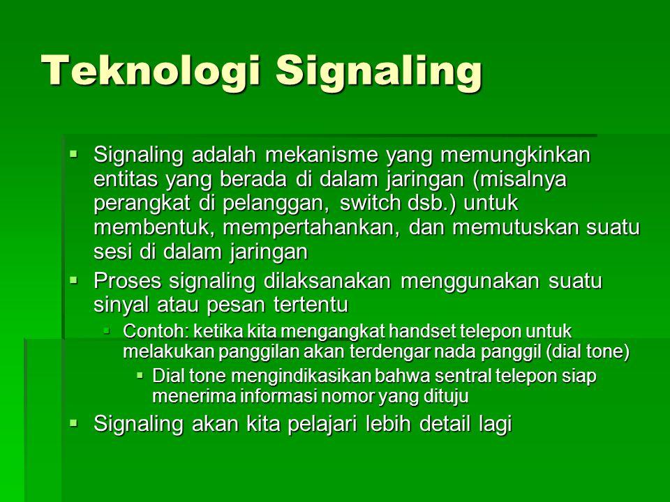 Teknologi Signaling