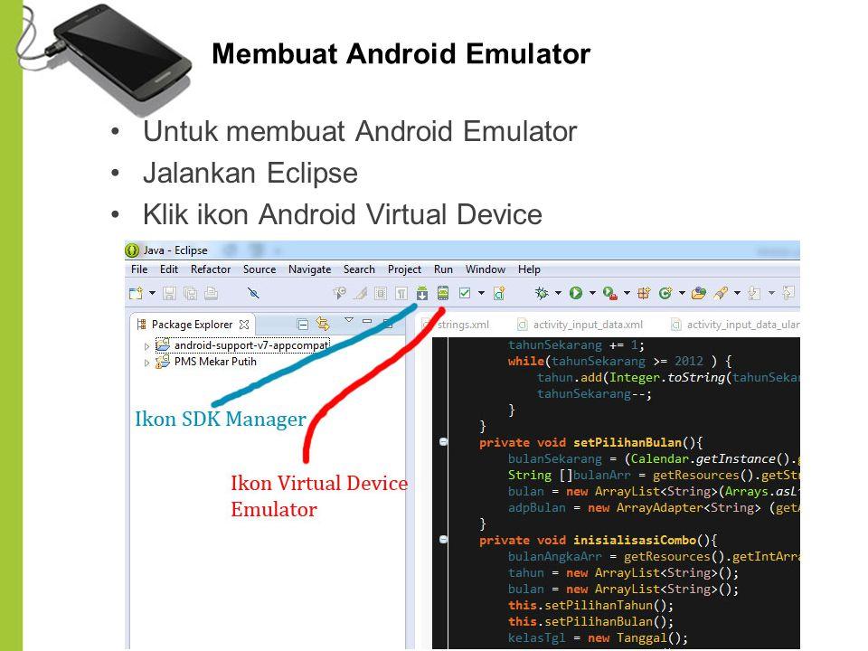 Membuat Android Emulator