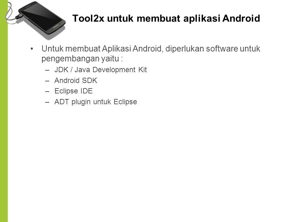 Tool2x untuk membuat aplikasi Android