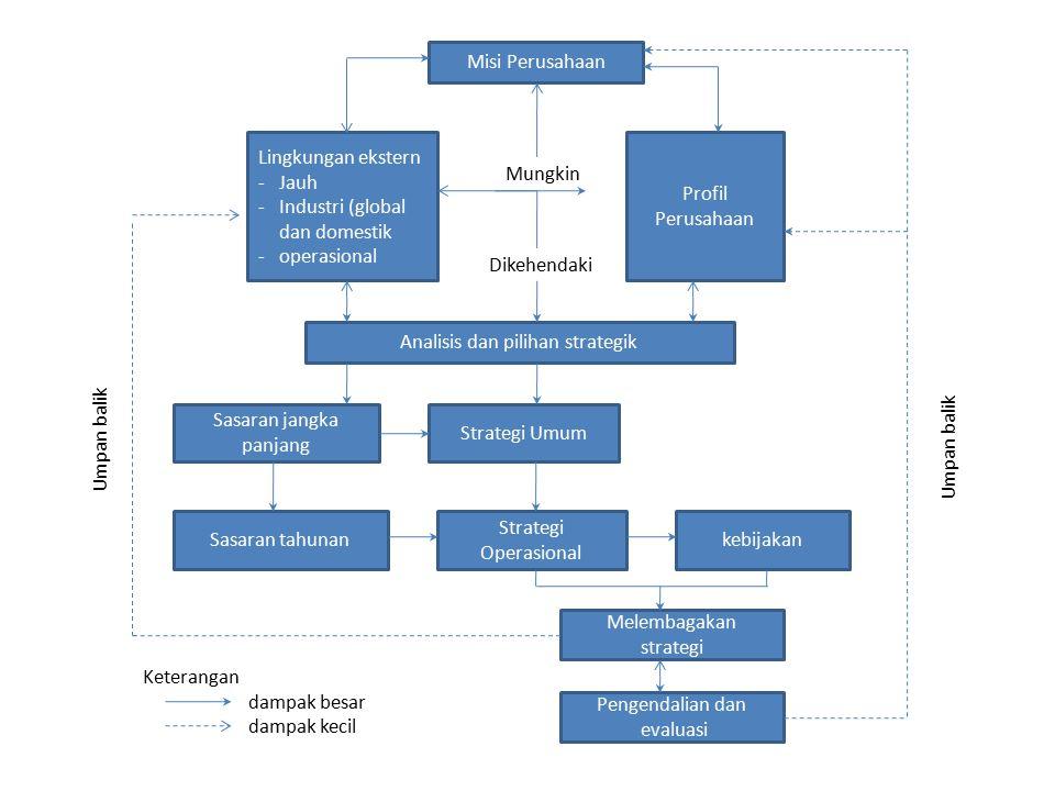 Industri (global dan domestik operasional Profil Perusahaan Mungkin