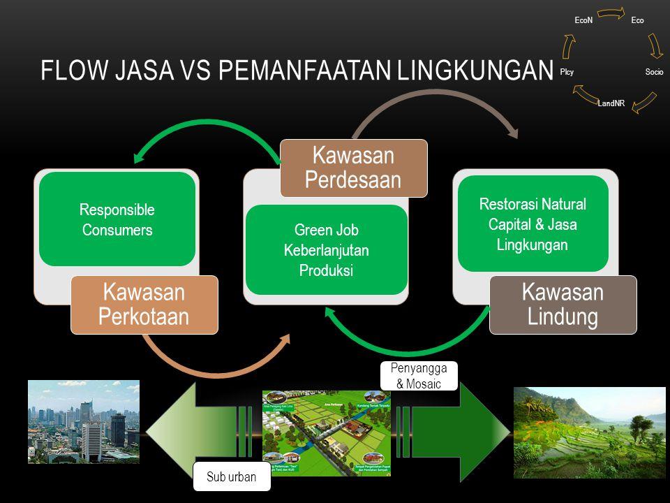Flow Jasa Vs Pemanfaatan Lingkungan