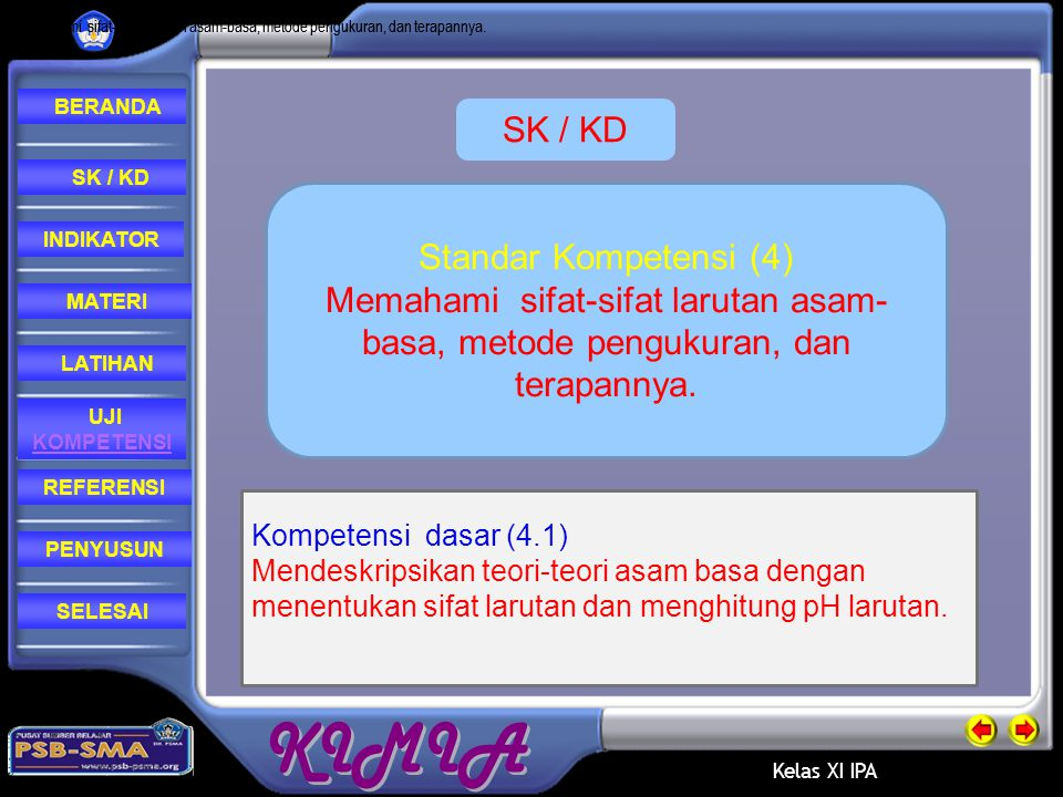 SK / KD Standar Kompetensi (4)