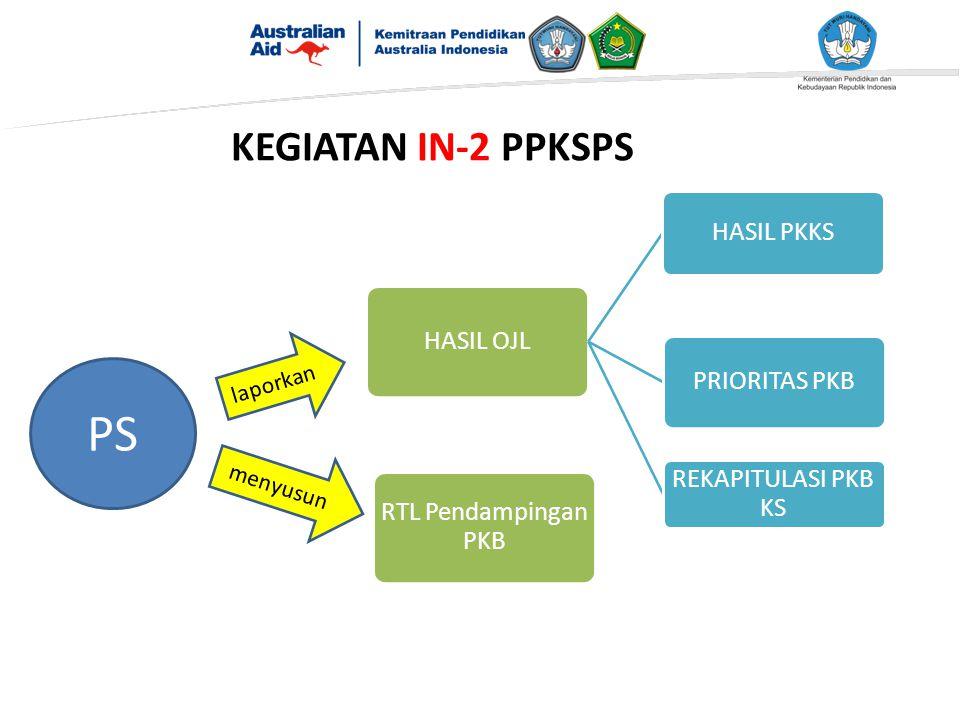 PS KEGIATAN IN-2 PPKSPS laporkan menyusun RTL Pendampingan PKB