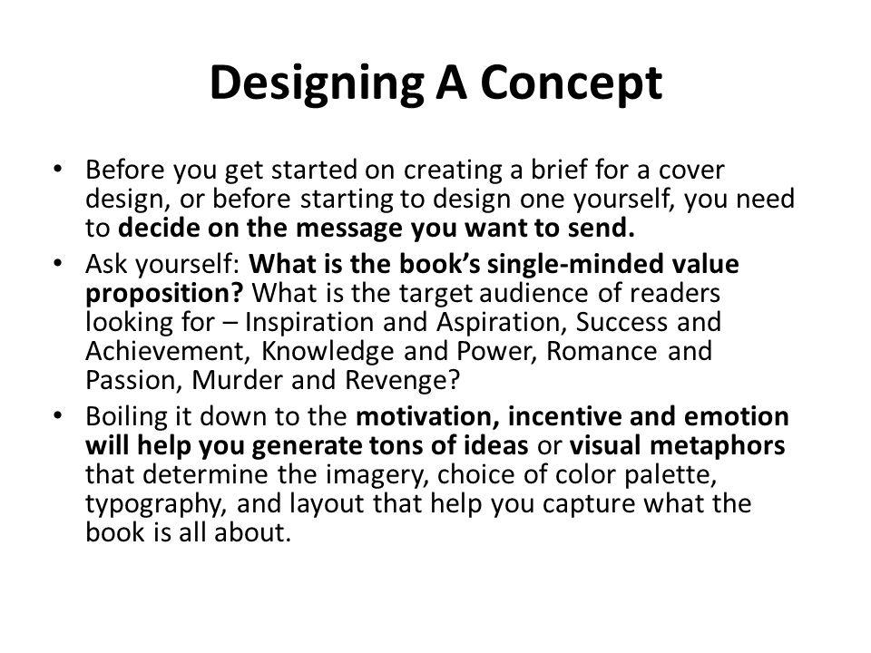 Designing A Concept