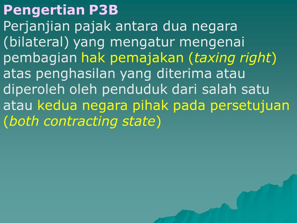 Pengertian P3B