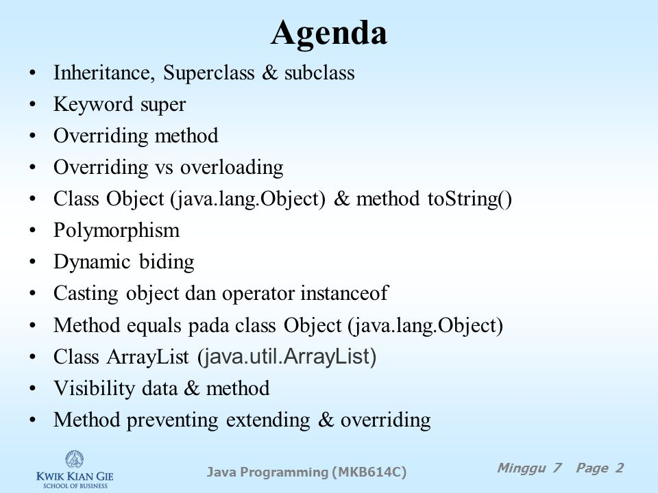 Java Programming (MKB614C)