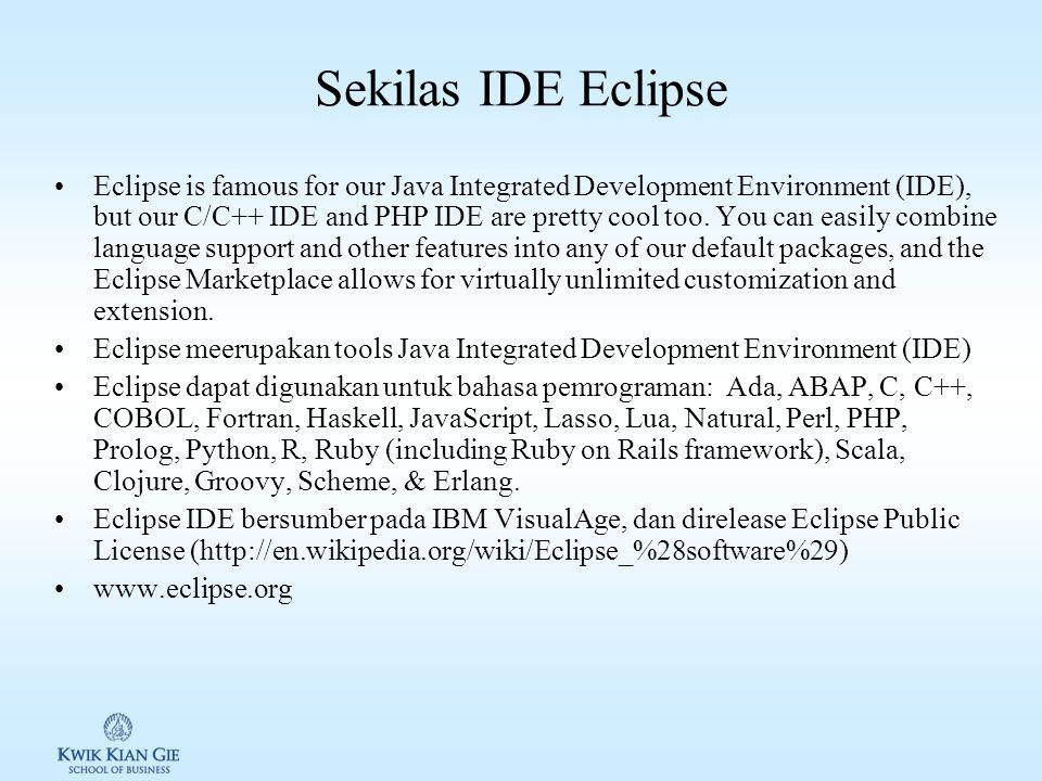 Sekilas IDE Eclipse