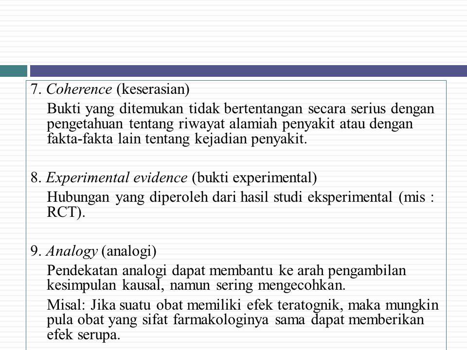 7. Coherence (keserasian)