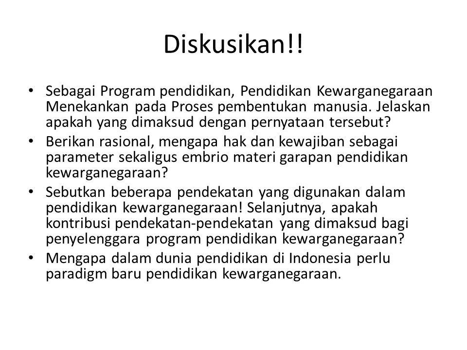 Diskusikan!!