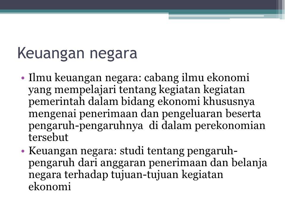 Keuangan negara