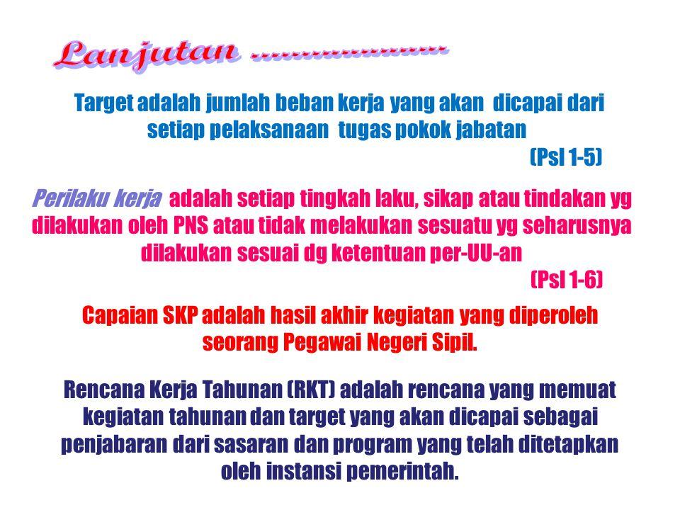 Rencana Kerja Tahunan (RKT) adalah rencana yang memuat