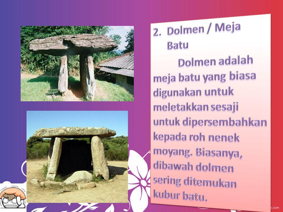 Dolmen / Meja Batu