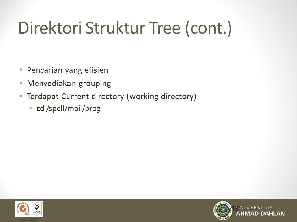 Direktori Struktur Tree (cont.)