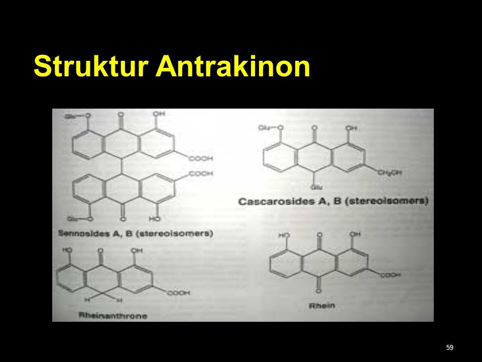 Struktur Antrakinon