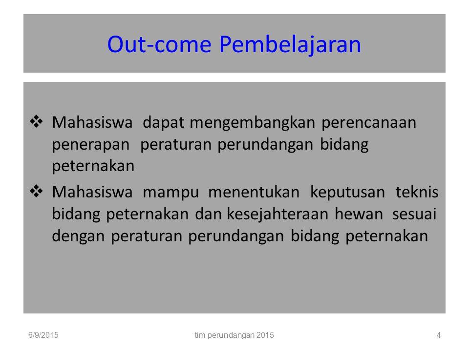 Out-come Pembelajaran