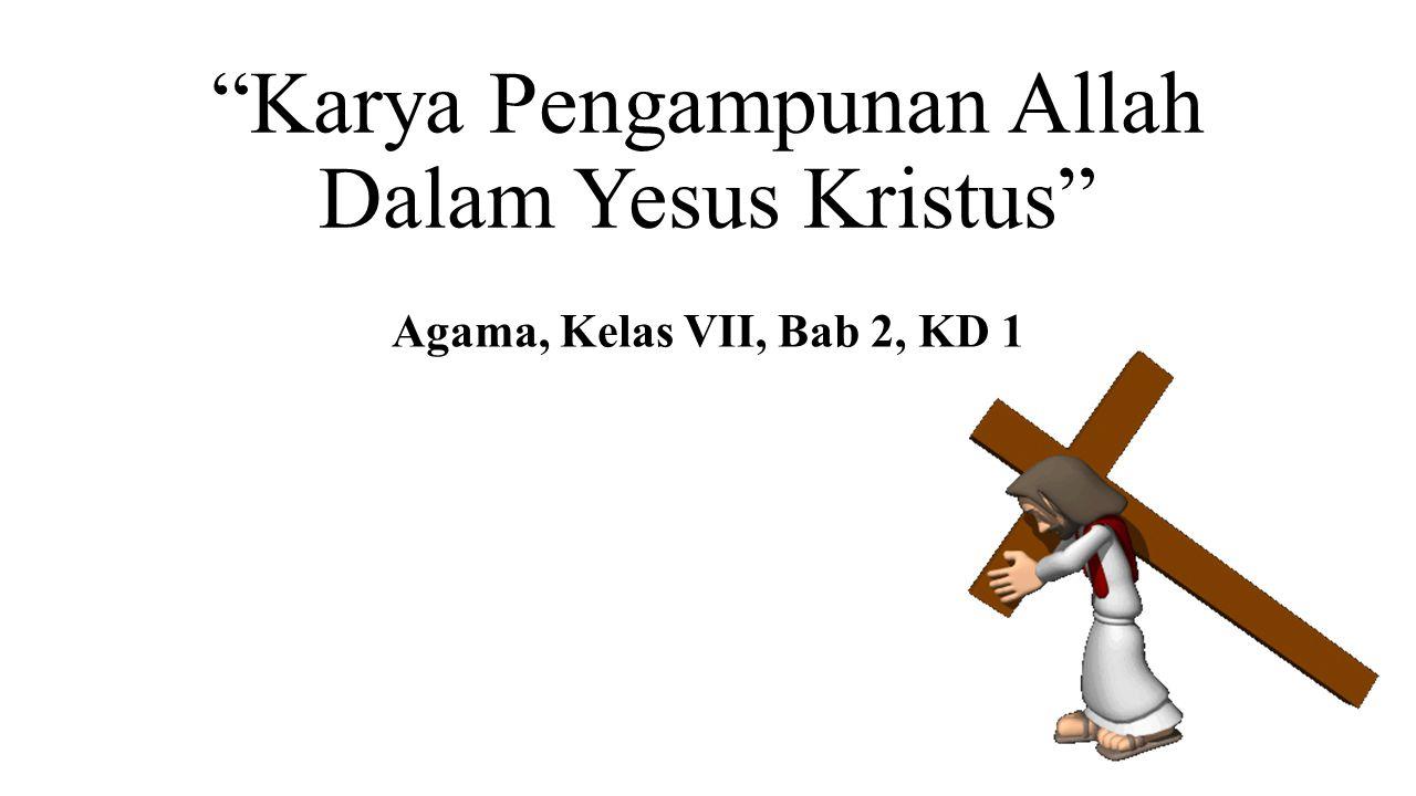 Karya Pengampunan Allah Dalam Yesus Kristus