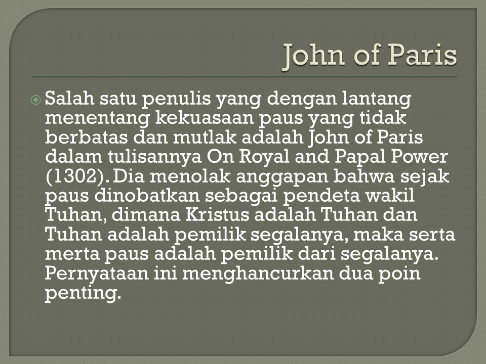 John of Paris