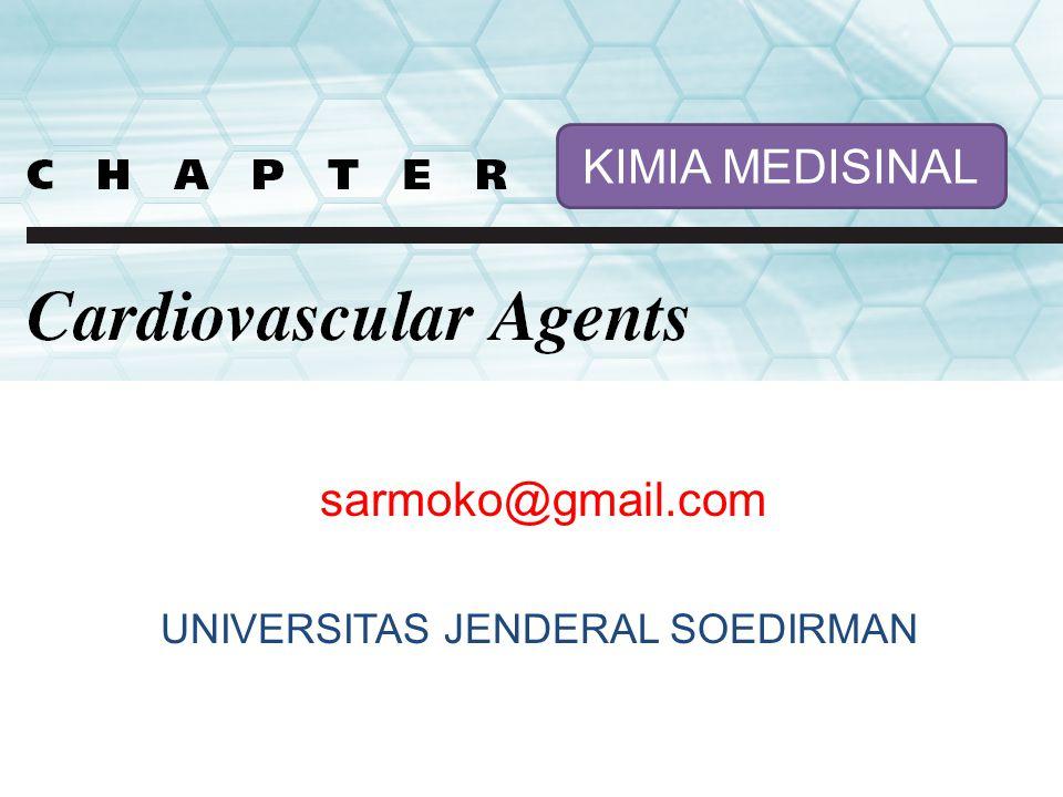 KIMIA MEDISINAL sarmoko@gmail.com UNIVERSITAS JENDERAL SOEDIRMAN