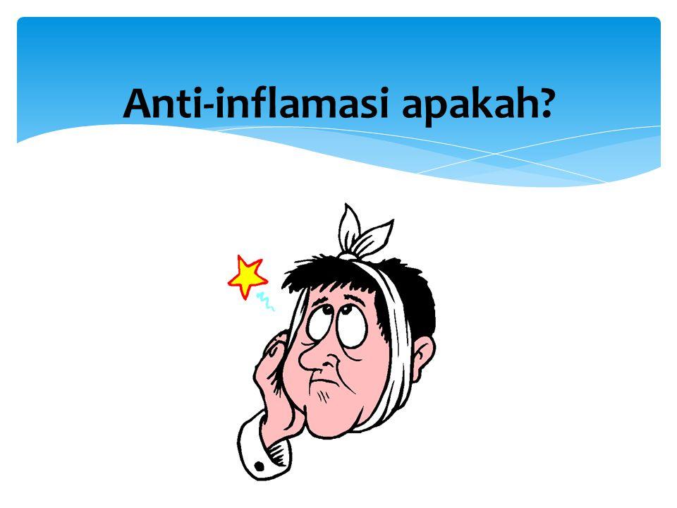 Anti-inflamasi apakah