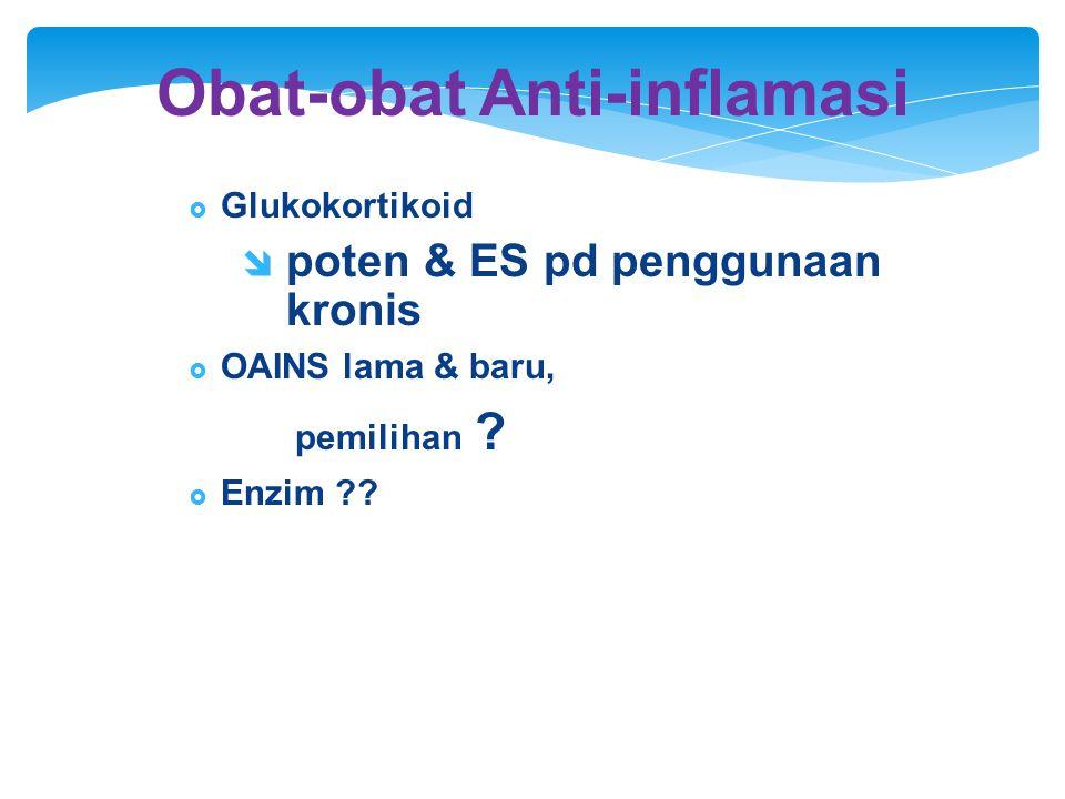 Obat-obat Anti-inflamasi