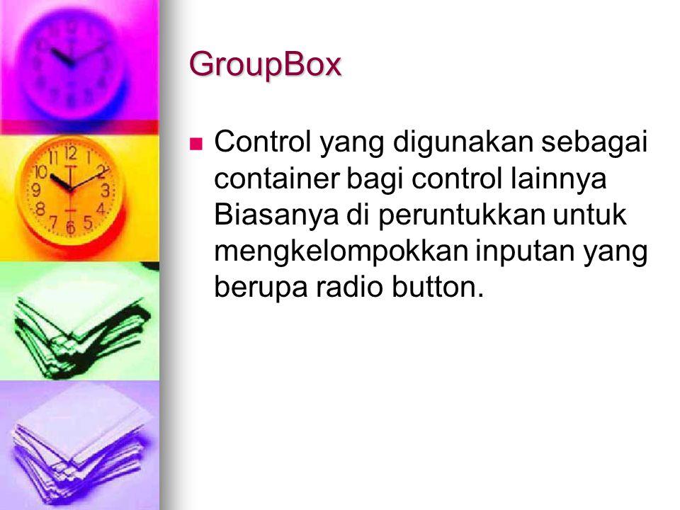 GroupBox