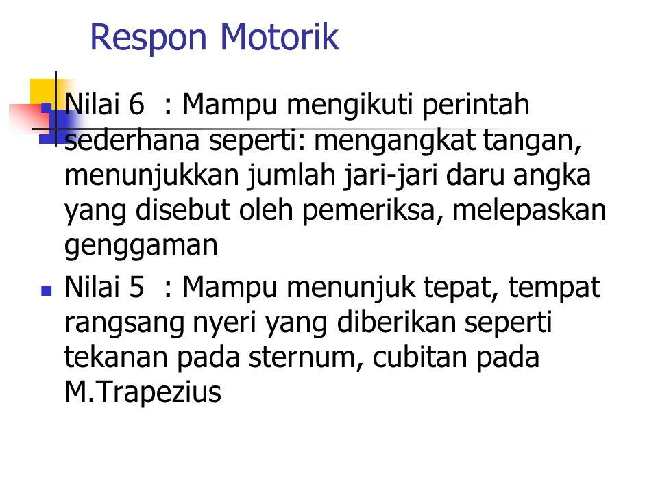 Respon Motorik